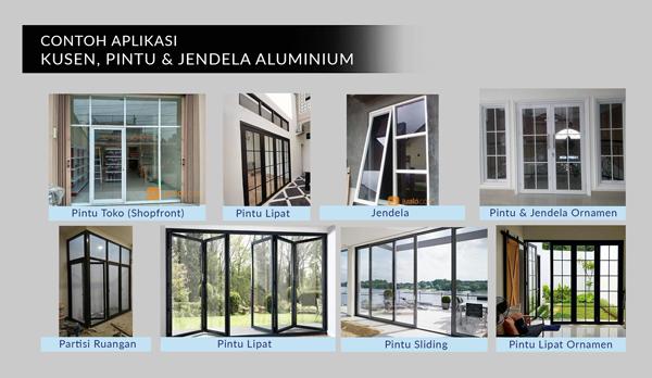 Contoh Kusen aluminium jendela aluminium sukatani