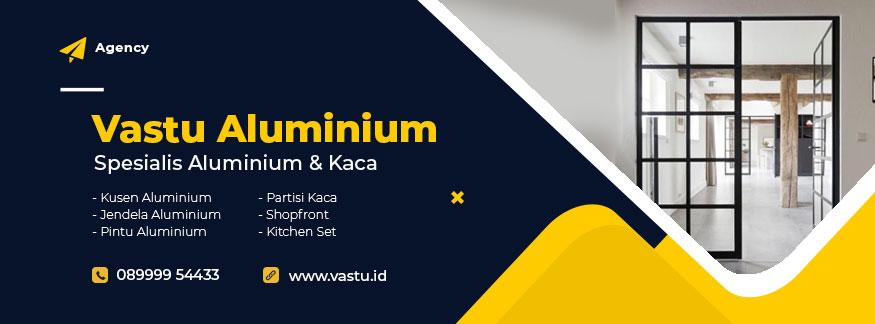 Toko Kusen aluminium di Lembah Hijau